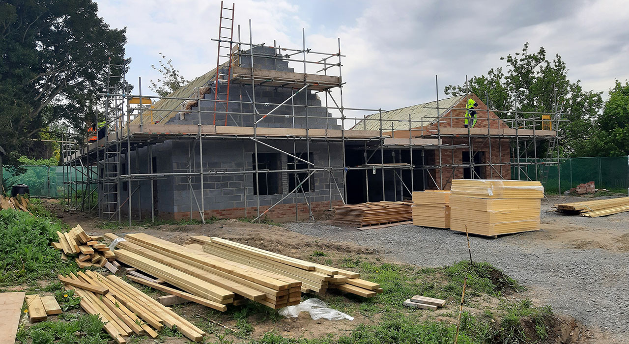 Building progress at the Pear Tree Centre