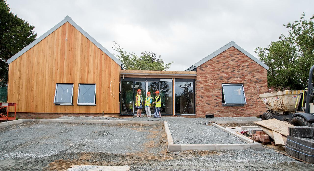 Progress at the Pear Tree Centre